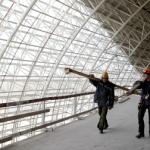 Строительство ряда олимпийских объектов отстает от графика